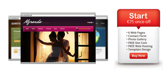 Web Design Package in Ibiza